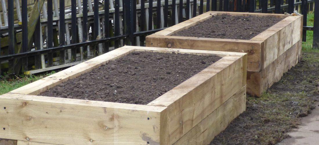 Bespoke garden planters